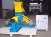 Extrusora para pellets flotantes para peces 300-350kg/h 37kw