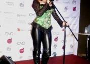 Luna music cantante retro 80's y 70's eventos matrimonios empresas