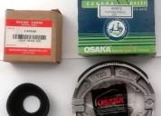 Membrana carburador y patines frenos - moto suzuki gn125