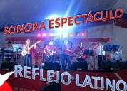 Reflejo latino. espetaculo