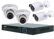 Instalacion cámaras de seguridad, cámaras ip y alarmas