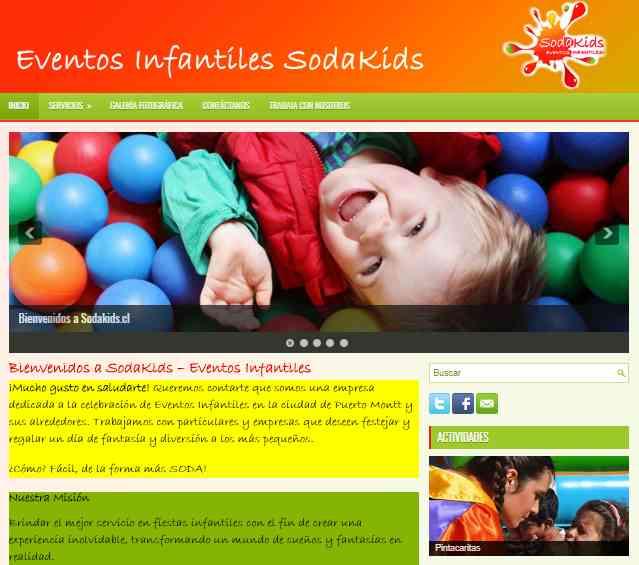 CENTRO DE EVENTOS PUERTO MONTT - SODAKIDS.CL