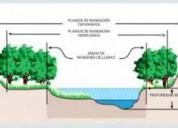 Estudios para disminuir franjas de restricción por riesgo de inundación prms