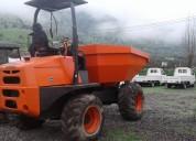 Dumper ausa  articulado aÑo 2013 10 toneladas