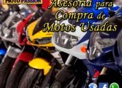 Asesoría para compra de motos usadas