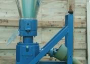 Meelko  peletizadora 260 mm 35 hp pto para concentrados balanceados 450-600kg