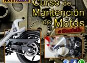 Curso de mantención de motos a domicilio
