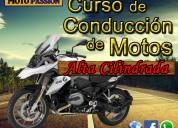 curso de conducción de motos de alta cilindrada
