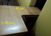 escritorio l enchapado