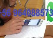 Ayuda en examenes controles pruebas por whatsapp +56 964088573