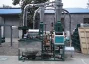 Molino de acero inoxidable para harina 100-200 kg hora consumo humano
