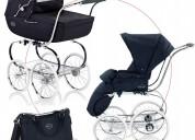 Sistema de cochecito inglesina classica con bolsa de pañales y saco de dormir