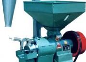 Peladora y pulidora meelko de arroz, 1100-1500kg/h