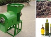 Prensa meelko extrusora de oleaginosas extracción de aceites 550-700 kg/hr