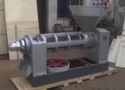 Prensa meelko extrusora de oleaginosas extracción de aceites 350-500 kg/hr.