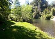 Hermosas parcelas con orilla de río