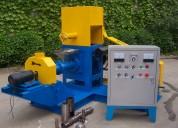 Extrusora meelko para pellets alimentación gatos 180-200kg/h 18.5kw - mked070b
