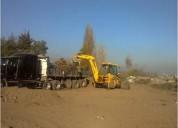 Arriendo retroexcavadora puente alto  227033466 excavadora demoliciones