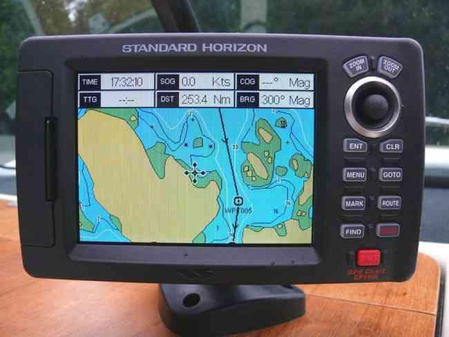 Gps standar horizon cp 190