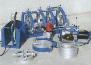 Soldador de termofusión con máquinas