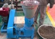 Peletizadora meelko 230mm 22 hp diesel para alfalfas y pasturas 250-350kg
