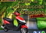 Curso de conducción de scooters a domicilio
