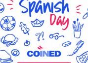 Spanish lessons. Dynamic and fun.Innovative methodology. Experienced Teacher.