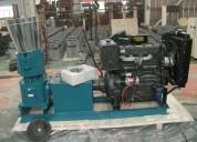 Peletizadora  meelko 400 mm diesel mixta
