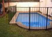 Fabricacion de rejas para piscinas