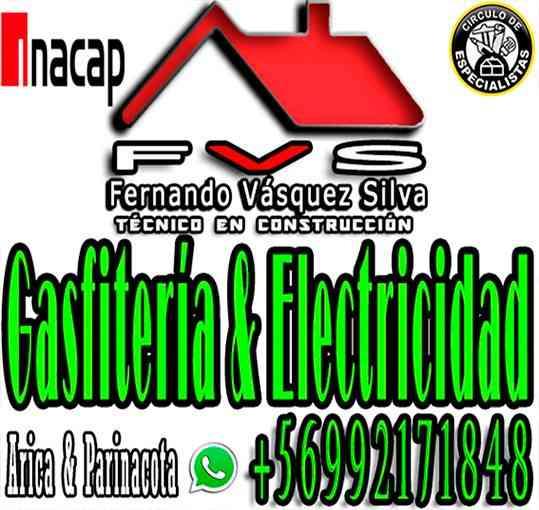 Gasfiter Arica - Economico, Experienca & calidad
