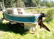 Forastero velero de 15 pies
