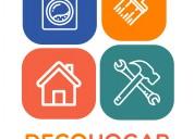 Gasfitería electricidad pintura reparación e instalación  de electrodomésticos, aires acondicion