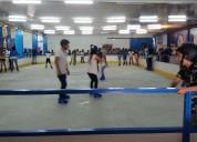 Alquiler de pista de patinaje sobre hielo natural