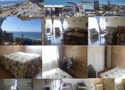 Valparaíso, depto.vista mar verano, con balcón y vista bahia