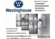 Servicio tecnico  westinghouse quinta región a domicilio