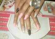 Cursos uñas acrílicas con tips