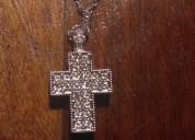 Cruz cristales swarovski