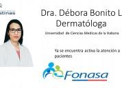Dermatologa santiago centro