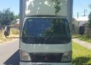 Camión mitsubishi fuso intercooler canter con frío año 2008