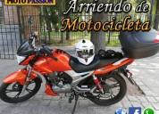 Arriendo de motocicleta