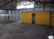 Arrienda oficina galpon 490 m2 curimon