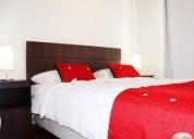 Departamento 2 dormitorios amoblado en santa lucia
