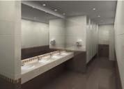 Sanitización de baños controlpest otorga certificación