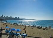 departamento en viÑa del mar cuadras de playa dos personas