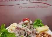 eventos en del puente a la alameda gastronomia peruana