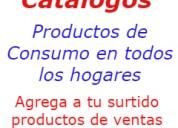 Ventas por catalogos productos consumo masivos