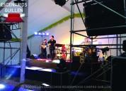 Arriendo de escenarios modulares para eventos