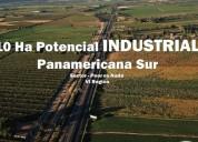 10 ha con potencial industrial