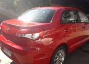 Oportunidad de venta de auto 2015 rojo, contactarse.
