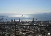 departamento con vista completa a bahía de valparaiso.